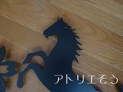 315:馬+さくら妻飾り