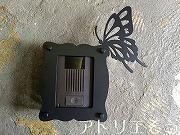 蝶々モチーフインターホンカバー